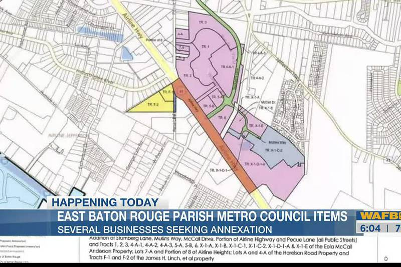Annexation efforts, pedal carriages, current Hurricane Ida budget to be discussed at EBR Metro...