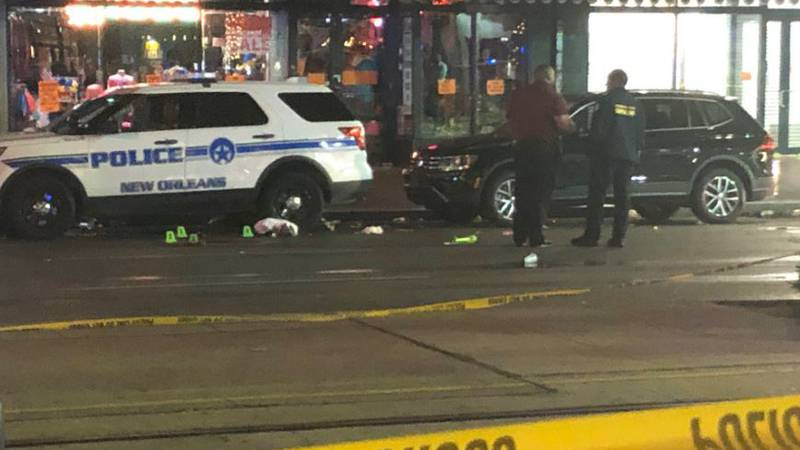 11 people were shot early Sunday morning (Dec. 1) in the 700 block of Canal Street leaving two...