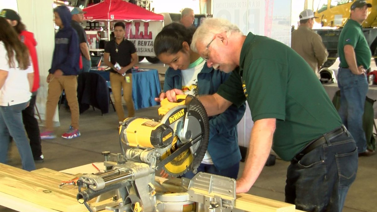 High school students in Ascension Parish got a hands-on look Thursday at lots of different...