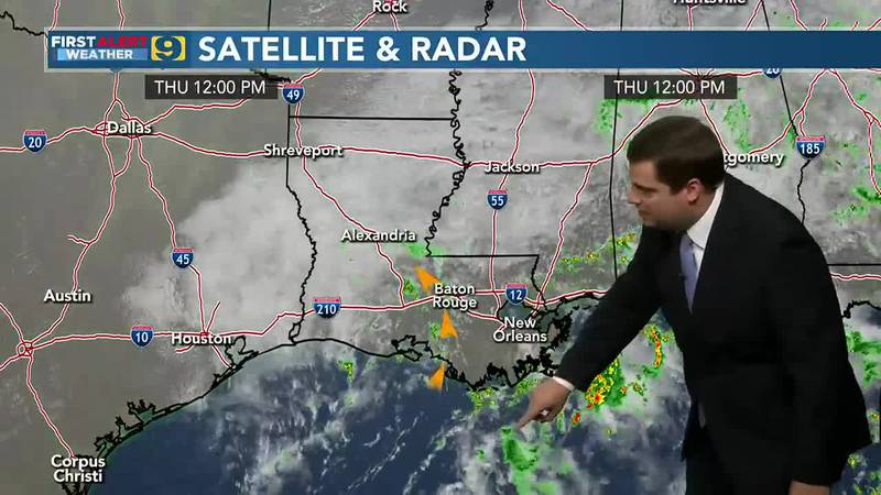 9News at Noon weather, September 16, 2021