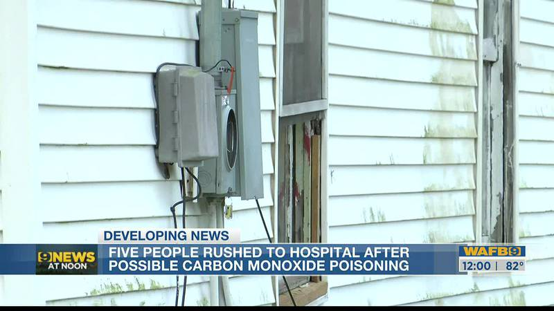 The Baton Rouge home where five people were treated for carbon monoxide poisoning had no...