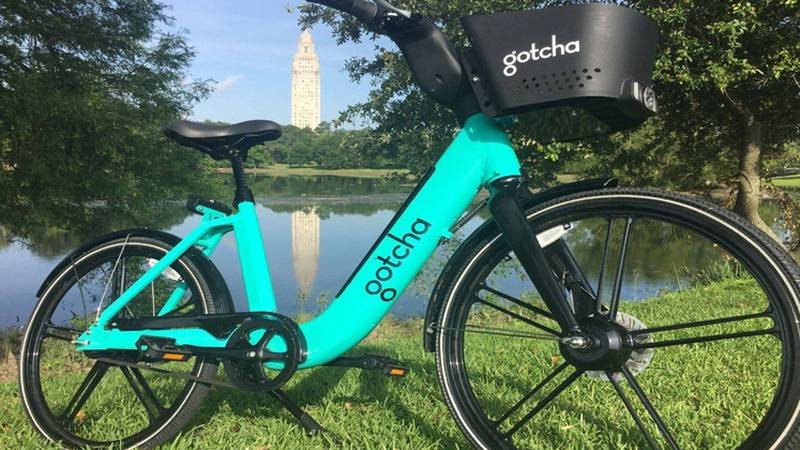 Gotcha launched a fleet of its e-bikes in Baton Rouge in July 2019.