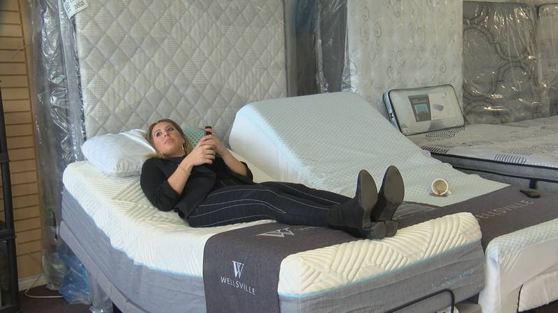 Mattresses, adjustable bases and reclining chairs have increased in sales in Amarillo during...
