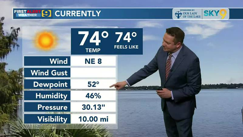 9News at Noon weather September 24, 2021