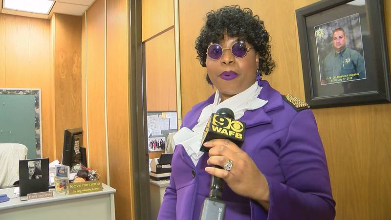 Faux Prince gave all of the East Baton Rouge Parish Sheriff's office a Halloween concert.