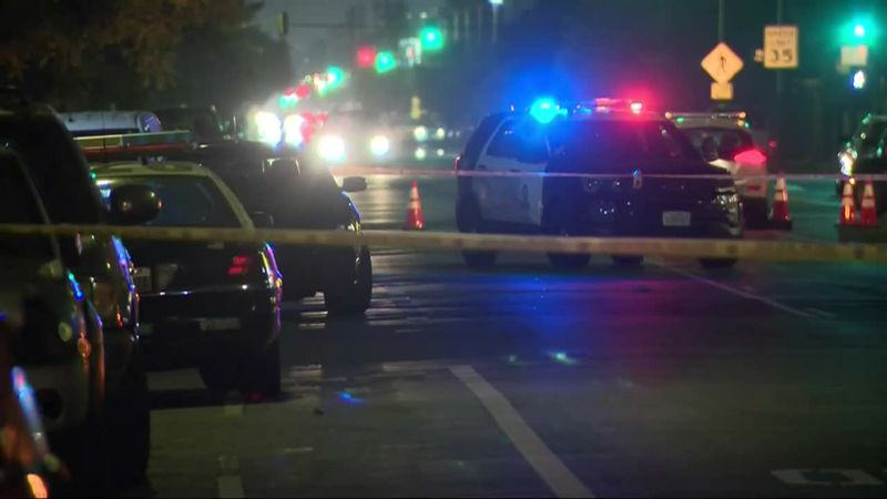 Police say the little girl was injured and a 22-year-old man killed when a car pulled up near...