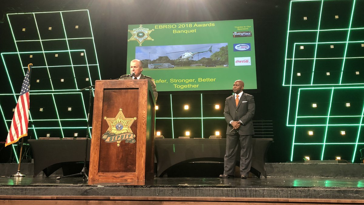The 2018 East Baton Rouge Sheriff's Office Awards Banquet.