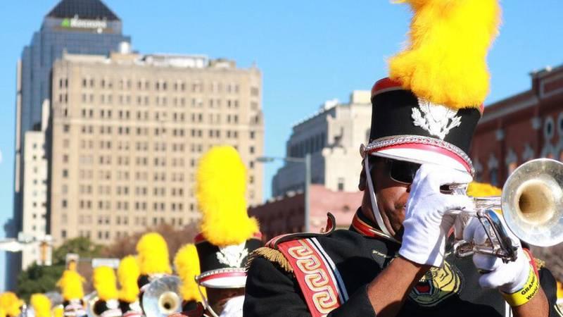 Grambling State University World Famed Tiger Marching Band