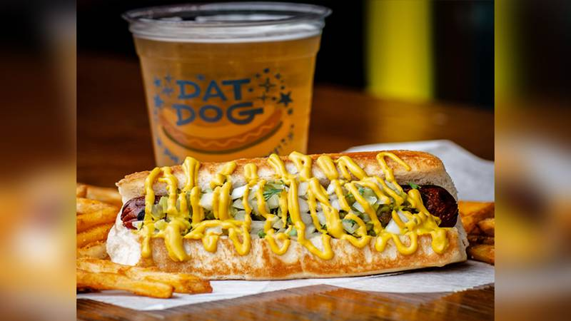 It's official! Dat Dog is coming to Baton with up to two restaurants, officials said Monday.