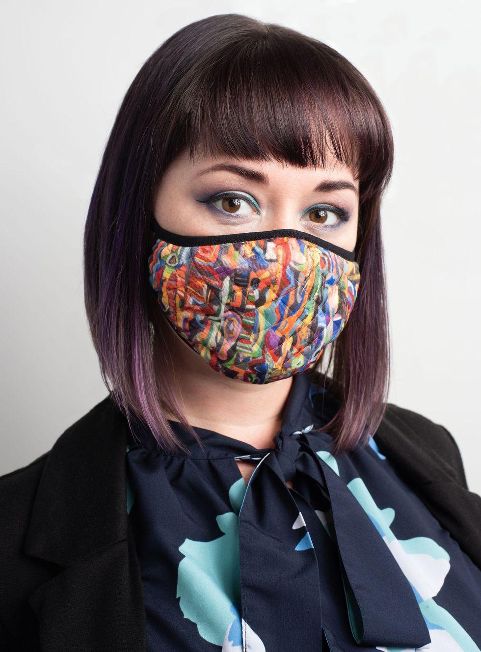 Face mask by Randell Henry