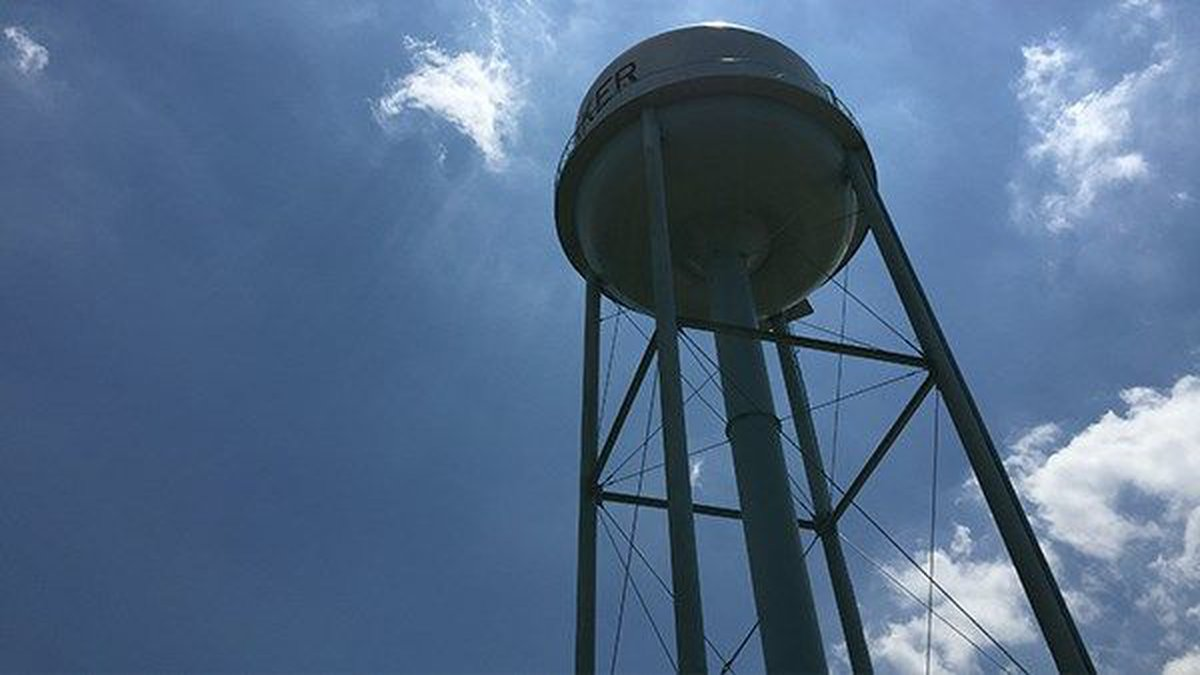 Water tower in Baker (Source: WAFB)