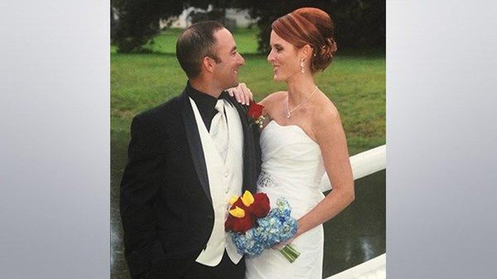 Wedding photo of Matthew and Dechia Gerald.