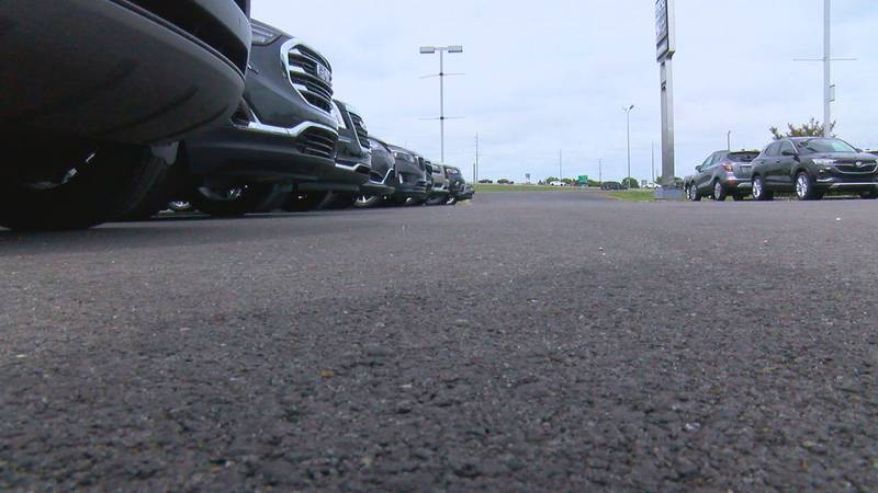 Local dealerships agree that people have not stopped shopping, really helping the them on the...