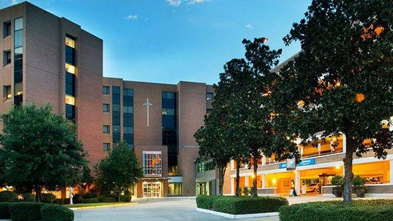 Our Lady of the Lake Medical Center (Source: OLOL website)
