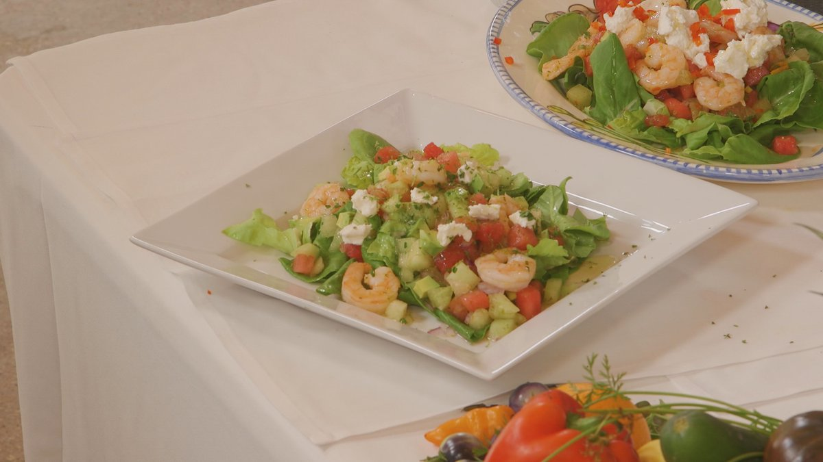 Chef John Folse says if he had to pick any salad to have during the summertime, this would be it!