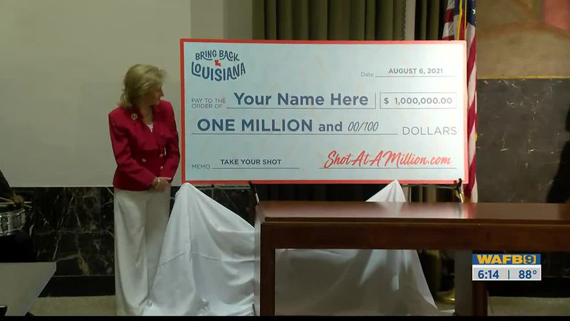 Louisiana COVID lottery program to offer cash prizes, scholarships, and $1M jackpot