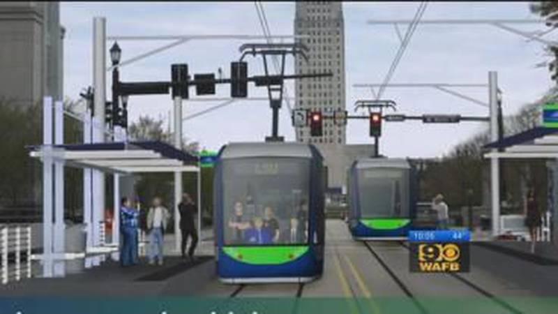 Mayor Holden unveils detailed plans for new tram system