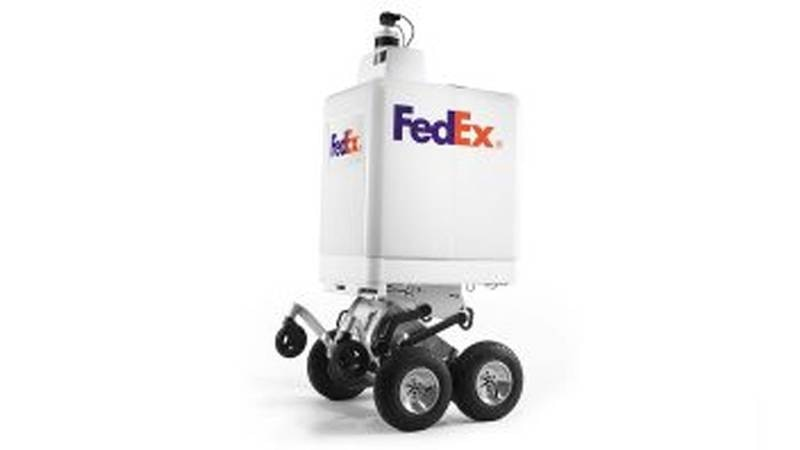The FedEx SameDay Bot will be tested in several cities, including Memphis, this summer....