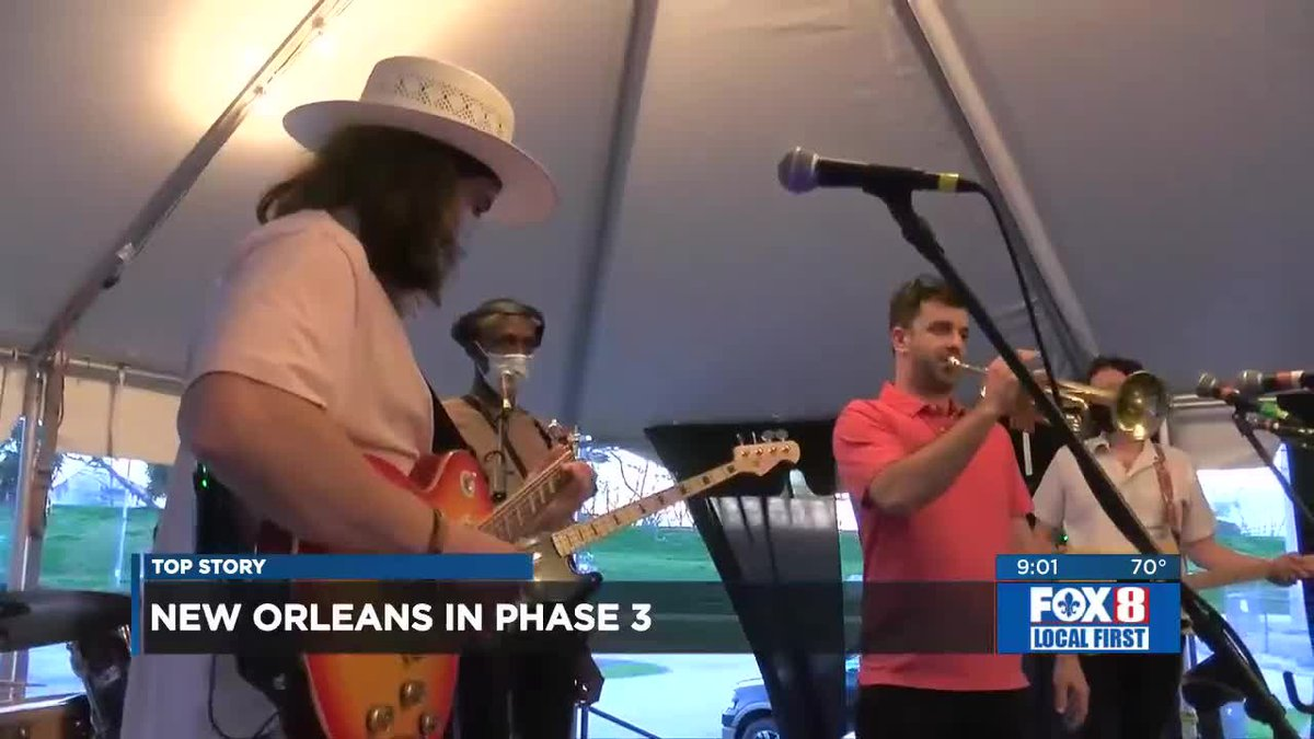 Live music is back in Phase 3