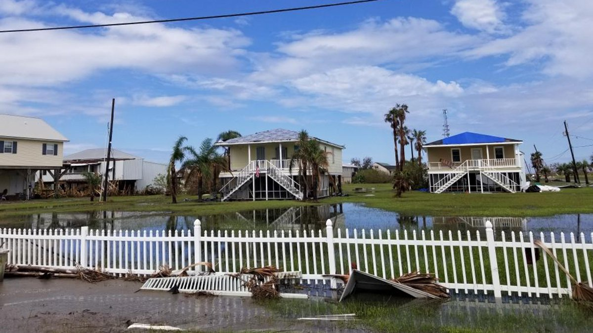 Grand Isle continues the recovery process after Hurricane Ida.