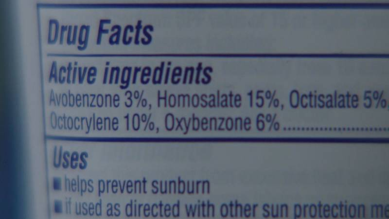 A new study suggests some chemicals in sunscreen are absorbed into the bloodstream at...