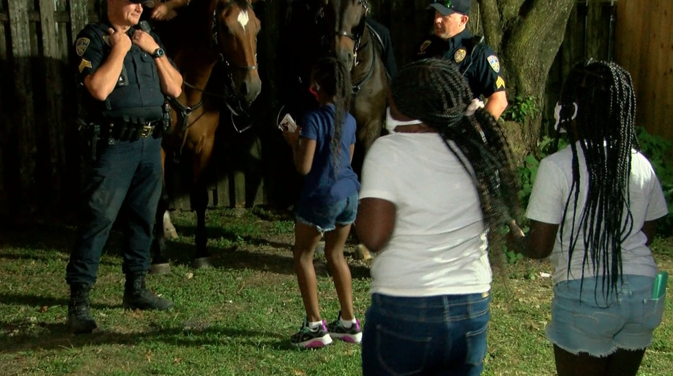 Members of the community got to spend time with Baton Rouge law enforcement officers as part of...