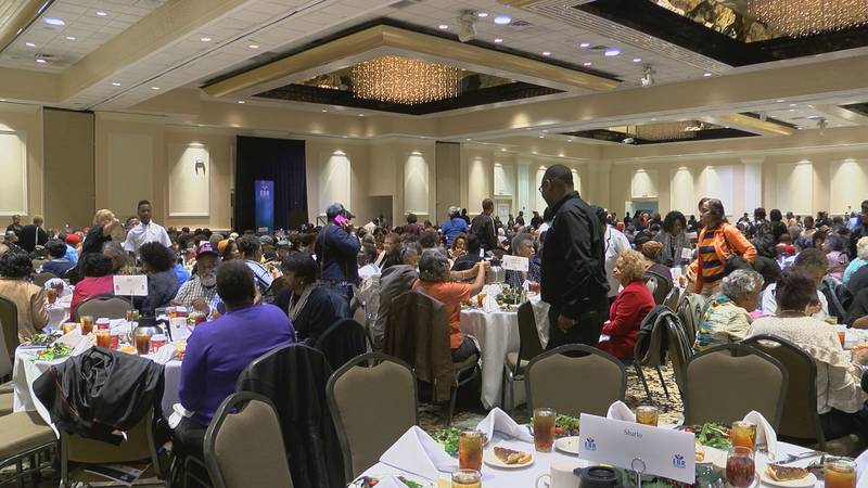 The East Baton Rouge Council on Aging Thanksgiving Lunch on Nov. 20, 2018
