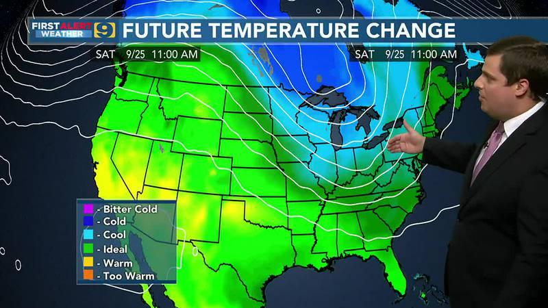 First Alert Weather 9News at 6 Tuesday, Sept. 21