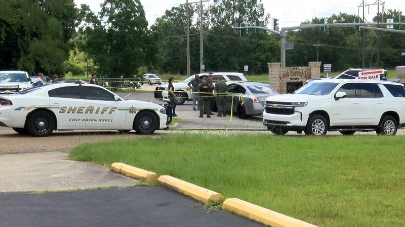 A man was found shot to death inside a car on Tiger Bend Road near Old Jefferson Hwy on...