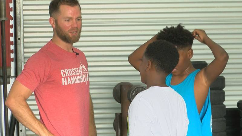 Louisiana gym owner uses Crossfit to reach out to youth.