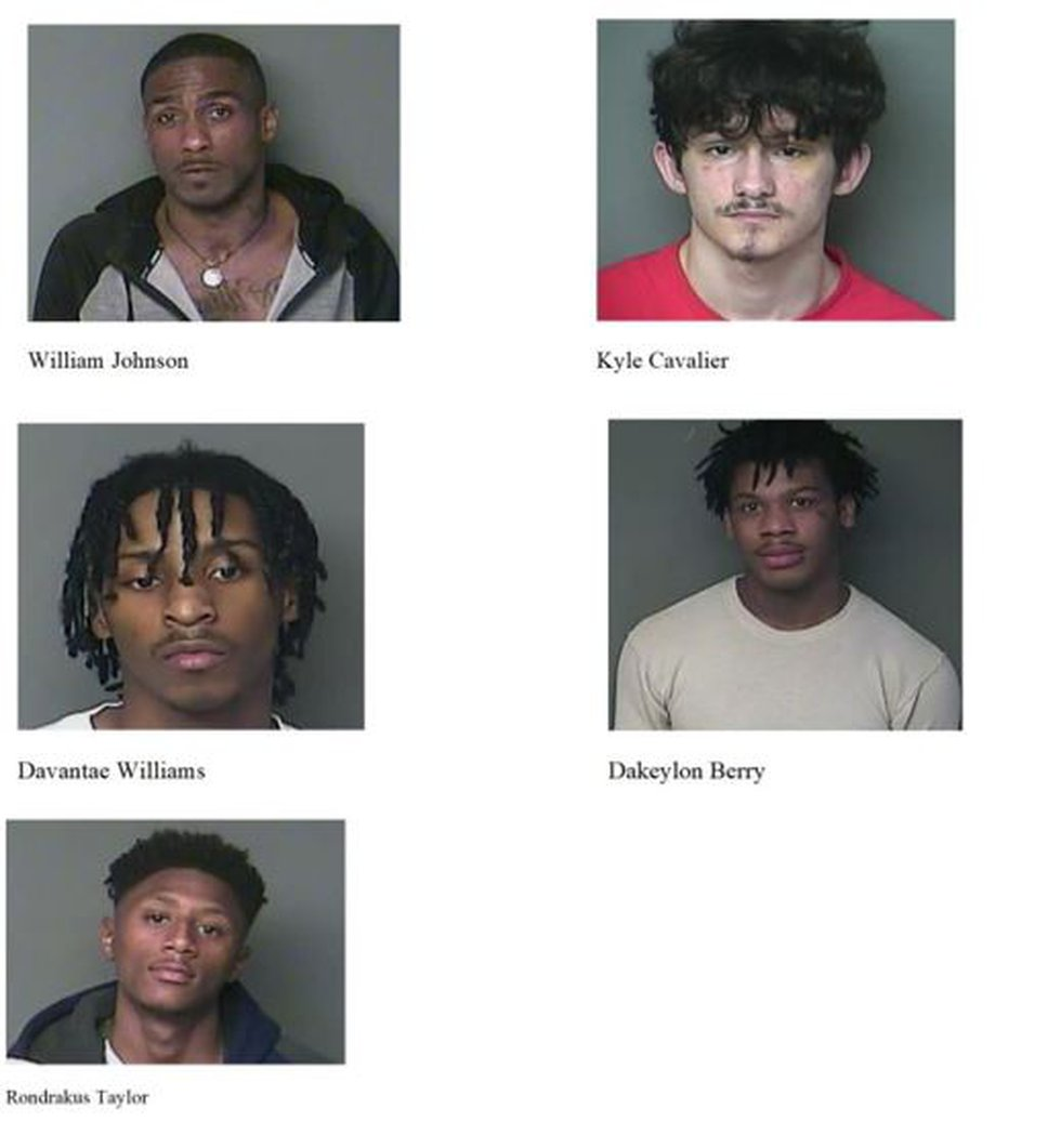 Five inmates escaped from the Marksville jail on Sept. 27.