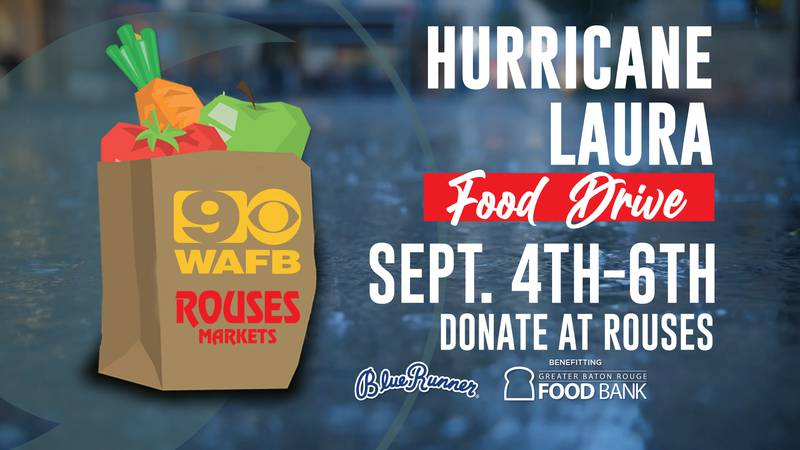 Donations can be made at any Rouses location.