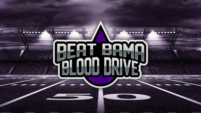 OUR TURN: Beat Bama blood drive