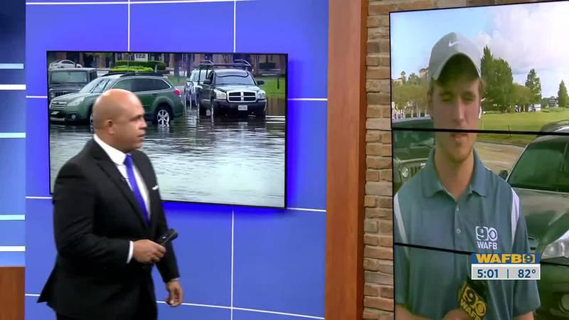 Flood concerns heavy rain