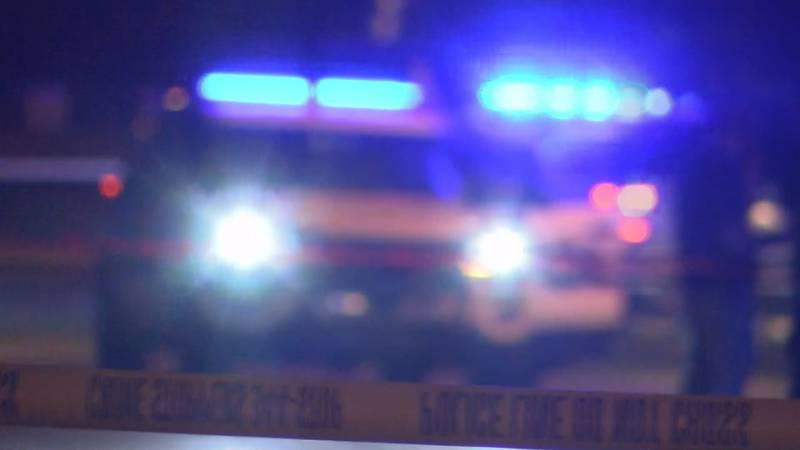 Police investigate deadly crash.