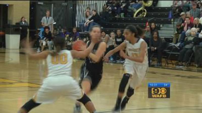 Girls high school basketball playoff action: February 25