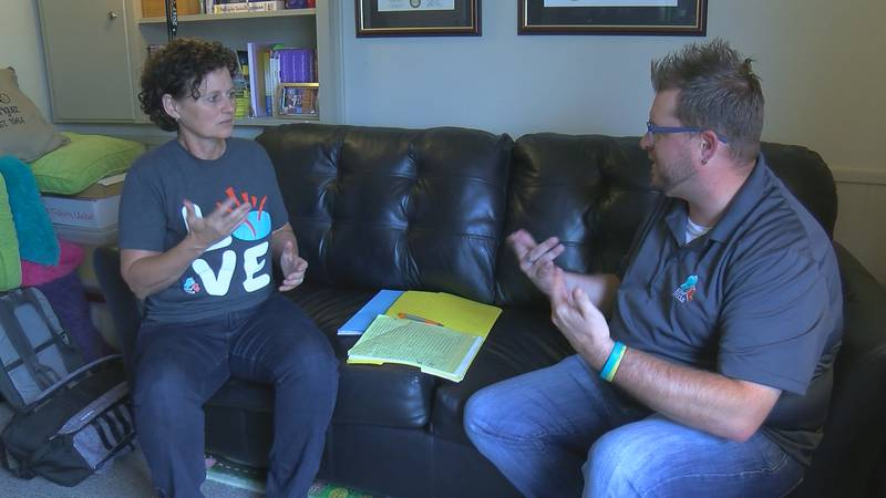 Director of Deaf Focus Paula Rodriguez and advocate, Jay Isch