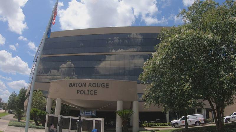 WAFB file photo of the Baton Rouge Police Department headquarters in Baton Rouge, La.