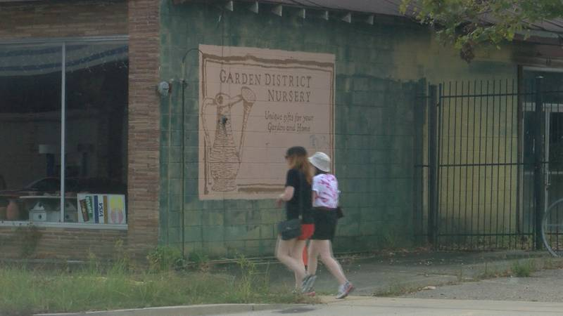 The old Garden District Nursey is expected to turn into an outdoor dinning area along with an...