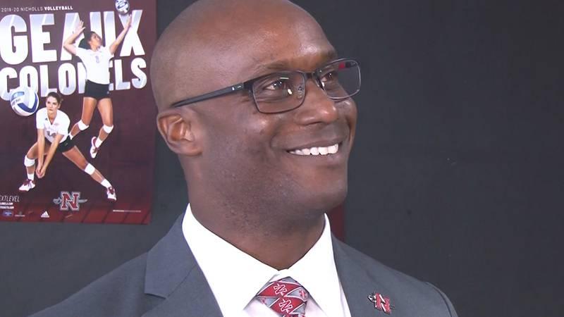 "Nicholls State athletic director Jonathan ""JT"" Terrell"