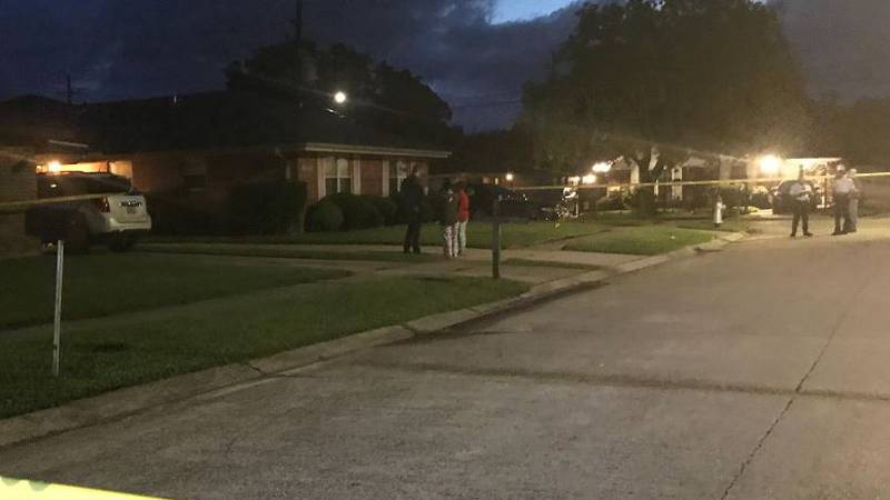 The NOPD investigates a homicide in the 8600 block of Chase Street.