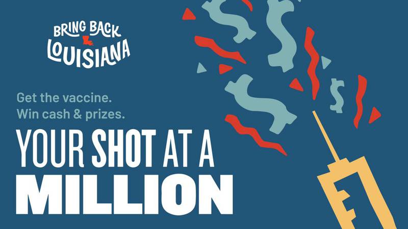 Those who have been vaccinated can enter for a chance to win.
