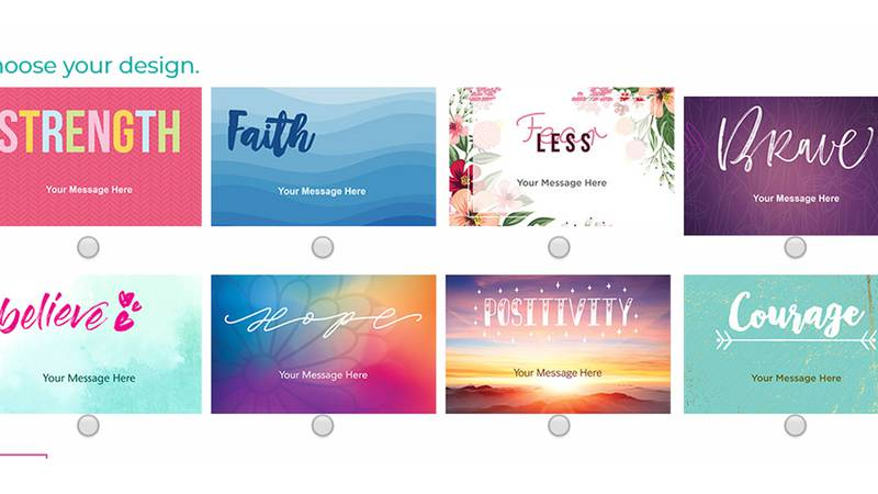 Hope Notes is an online portal that allows users to easily send messages of inspiration to...