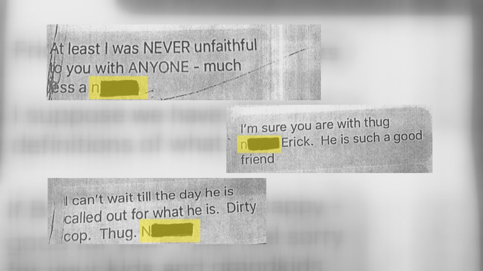 Judge Jessie LeBlanc admitted to sending text messages with racial slurs in an exclusive...