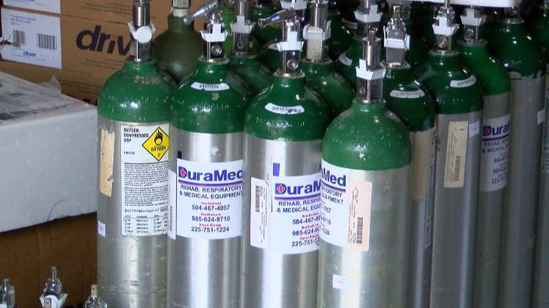 Hospitals ask for people to return oxygen supplies when they're done