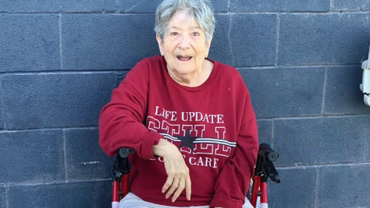 In the past year, she has survived a heart valve replacement, a brain tumor and COVID-19.