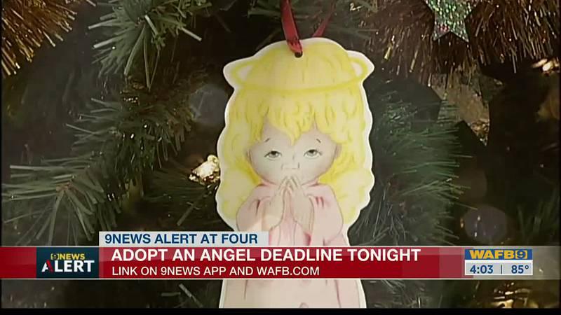 Adopt an angel deadline