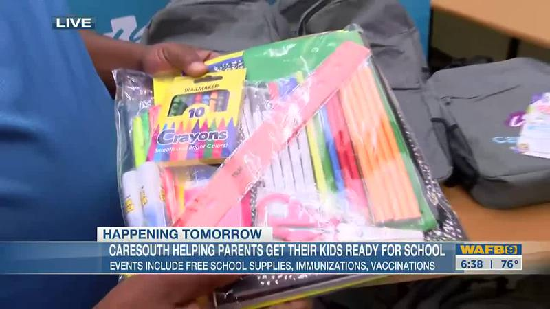 Back to school event hosted by CareSouth