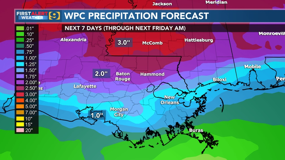 FIRST ALERT FORECAST: Friday, May 7