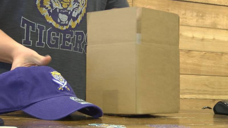 Baton Rouge businesses that sell LSU merchandise are seeing a big boom thanks to the team's...